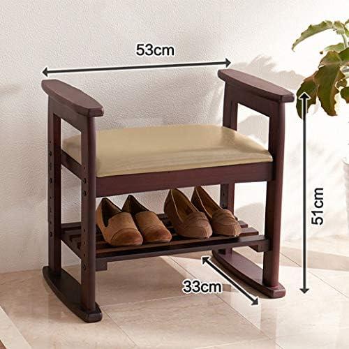 Banco de Zapatos de Madera Maciza Muebles para el hogar ...