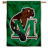 College Flags and Banners Co. Minot State Beavers Double Sided House Flag