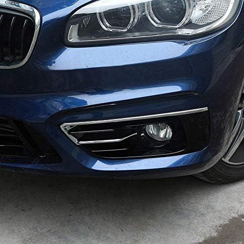 Abs Chrome Fog Light Cover For 2 Series F45 F46 Gran Active Tourer 2015 2017 Polish Silver Auto