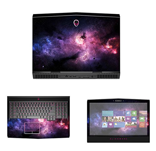"""Decalrus - Protective Decal Skin skins Sticker for 2016 Alienware 17 R4 without G Sync (17.3"""" Screen) case cover wrap AL16alienware17R4-105"""