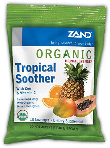 Zand – herbalozenge orgánico Chupete Tropical con Zinc ...