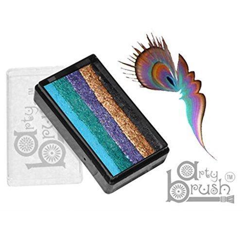 Silly Farm Rainbow Cakes - Peacock Arty Brush Cake (20 g) ()