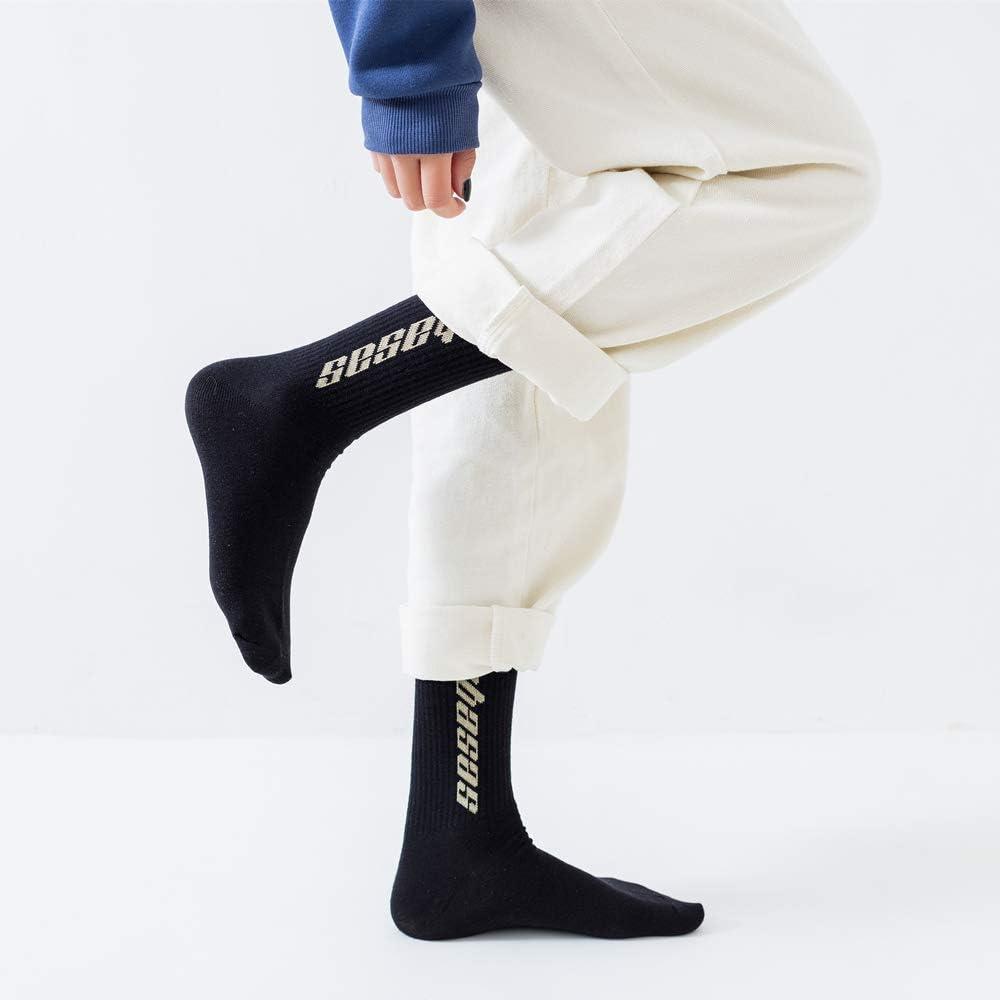WLQXDD Calze Regalo Speciali Calzini Hip Hop Uomo Donna Uomo Happy Socks Meias Harajuku Streetwear Casual Crew