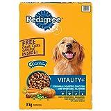 Pedigree Vitality+ Dry Food for Dogs - Original Chicken & Vegetable - 8kg