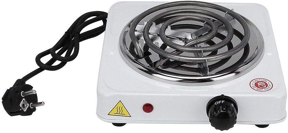 𝐏𝐚𝐬𝐜𝐮𝐚】 Zouminyy Estufa eléctrica, 1000W Hogar Mini ...