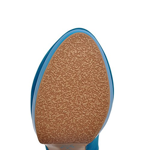 Adee , Damen Sandalen, Blau - blau - Größe: 38 EU