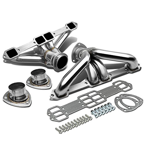 High Performance 4-1 Design 2-PC Stainless Steel Exhaust Header - Steel Stainless Exhaust Race