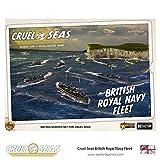 Cruel Seas Royal Navy Fleet Starter Set, World War II Naval Battle Game …