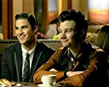 Glee Chris Colfer as Kurt Hummel and Daren Criss as Blaine Anderson 8 x 10 Inch Photo