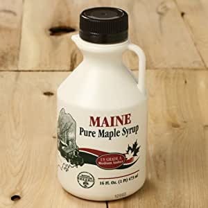 Organic Pure Maine Maple Syrup by Maine Maple Products (1 pint)