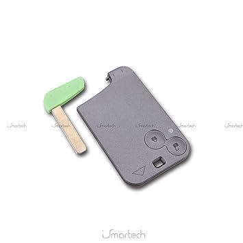 Smart Card - Carcasa para mando de coche Renault Laguna ...