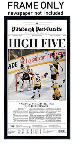 Pittsburgh Post Gazette   Pittsburgh Penguins Newspaper Frame