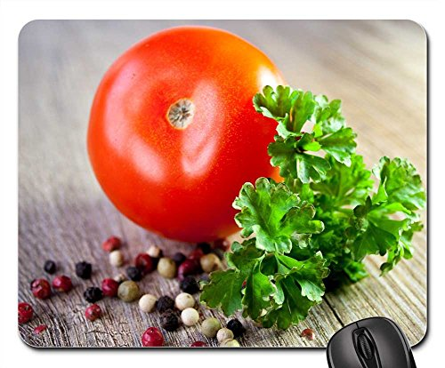 Mouse Pads - Tomato Sauce Vegetables Parsley Pepper Eat Pasta