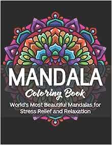 Amazon.com: Mandala Coloring Book: World's Most Beautiful