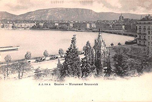 (Geneve Monument Brunswick Switzerland)