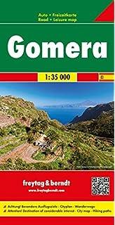 La Gomera Road Map Hiking Paths Tourist Information English