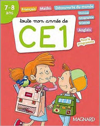 En ligne Toute mon année de CE1 pdf ebook