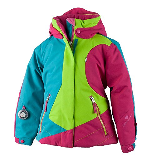 Obermeyer Kids Baby Girl's Trina Jacket (Toddler/Little Kids/Big Kids) Sarah Green 6 by Obermeyer Kids