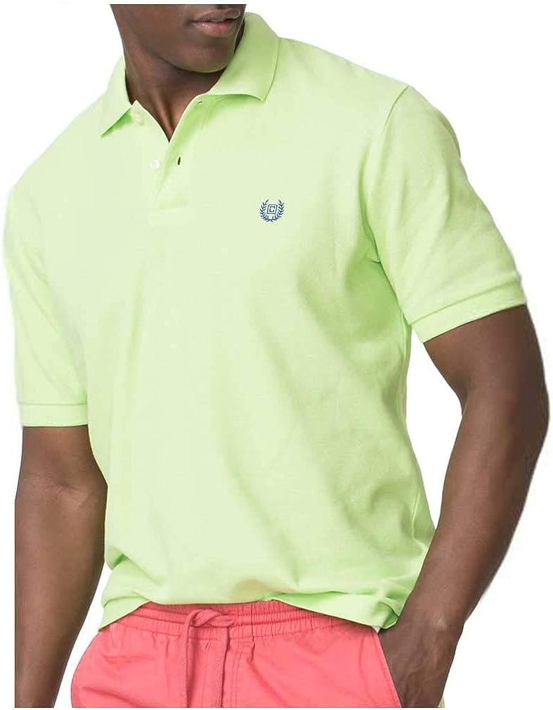 Amazon.com: Chaps Men's Big & Tall Pique Polo Shirt, Green (Large ...