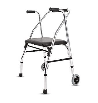 TWGDH Ayuda para Caminar De Aluminio de 2 Ruedas con Andador ...