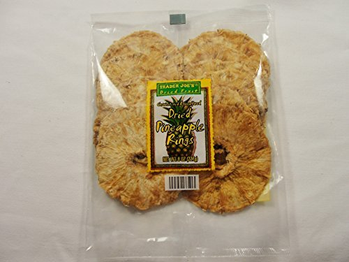 Trader Joe's Dried Fruit Pineapple Rings Pack of 2