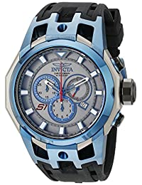 Invicta Men's 16814 S1 Rally Analog Display Swiss Quartz Black Watch