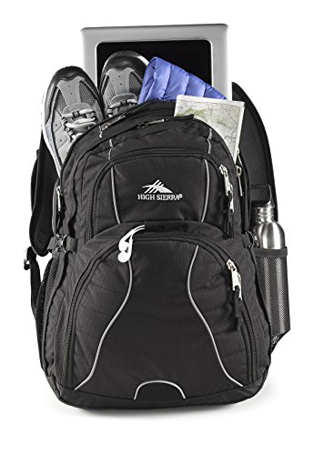 High Sierra Swerve Backpack, Black by High Sierra (Image #6)