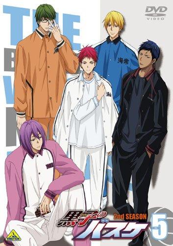黒子のバスケ第2期:2013年10月5日~2014年3月29日(25話+OVA)