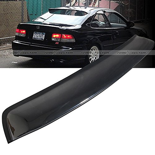 1996 - 2000 Honda Civic 2 Door Coupe Rear Window Roof Visor Spoiler Wing (2 Roof Spoiler)