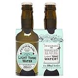 Fentimans Botanically Brewed Light Tonic Water, 4 x 200ml