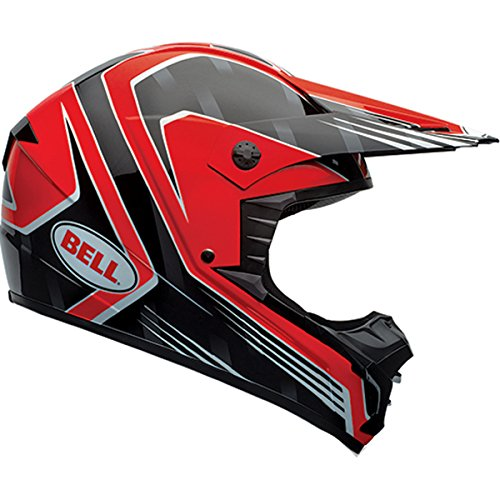 Bell SX-1 Race Red Motocross Helmet - Small