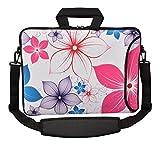 MySleeveDesign Notebook Carry Bag Laptop Neoprene Case with Shoulder Strap 17 - 17.3 Inch - SEVERAL DESIGNS - Frog