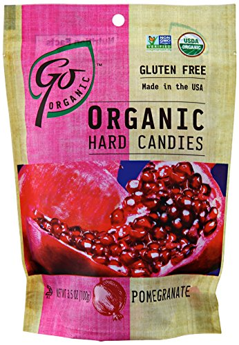 (GoNaturally ORGANIC HARD CANDIES (Pomegranate) (1 x 3.5)