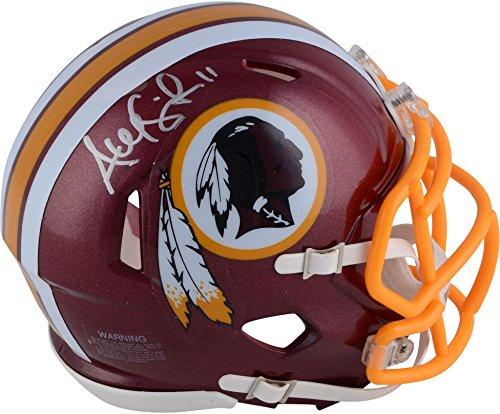 Alex Smith Washington Redskins Autographed Riddell Speed Mini Helmet - Fanatics Authentic Certified - Autographed NFL Mini Helmets