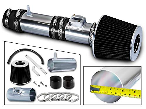 Filter Combo BLACK Compatible For 07-13 Acura MDX 3.7L Rtunes Racing Short Ram Air Intake Kit 09-13 Honda Pilot//Ridgeline 3.5L /… 07-13 Honda Odyssey 3.5L