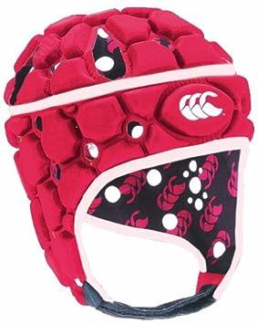 Canterbury Casco de rugby con ventilación rojo rojo Talla:L