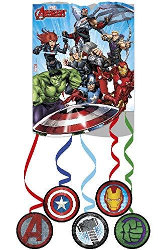 ALMACENESADAN 2600; piñata Avengers; Ideal para Fiestas y cumpleaños; piñata los Vengadores