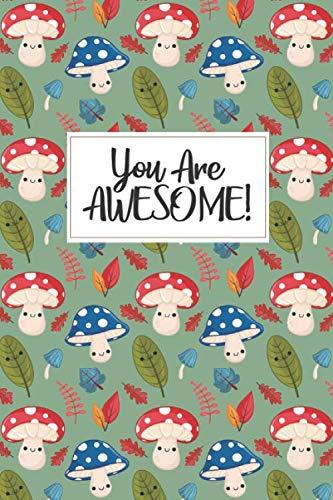 Kawaii Mushroom Gift - Mushroom Journal: a blank lined mushroom notebook, mushroom gift for women, mushroom kids gift, mushroom birthday party, ... party gift, mushroom stuff, mushroom lover