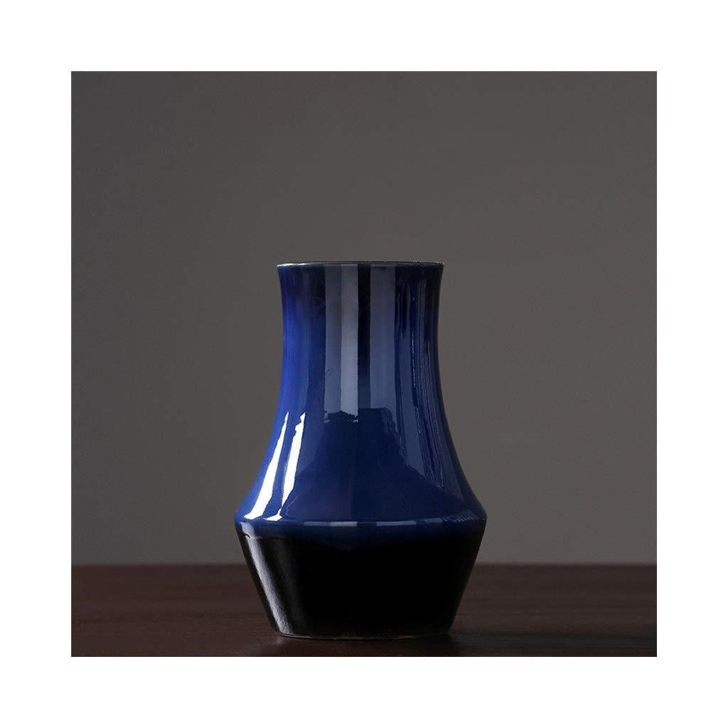 高温セラミック花瓶現代のミニマリストの家の装飾のリビングルームの花瓶 (Size : 19cm*38cm) B07S9S3R66  19cm*38cm