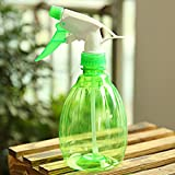 Tuscom Plastic Spray Bottle for Flowers Plants With Water,Insecticide,Pesticide (Green)