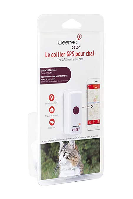 Weenect Cats 2 - El localizador GPS para Gatos