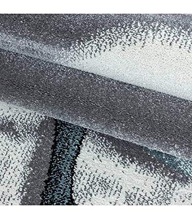 Kinderteppich Baby Teppich Kinderzimmer s/ü/ßer Dino Motiv Grau Blau Wei/ß 80x150 cm