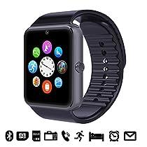 GSTEK - Reloj Inteligente Bluetooth con Cámara y Pantalla Táctil