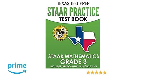 TEXAS TEST PREP STAAR Practice Test Book STAAR Mathematics