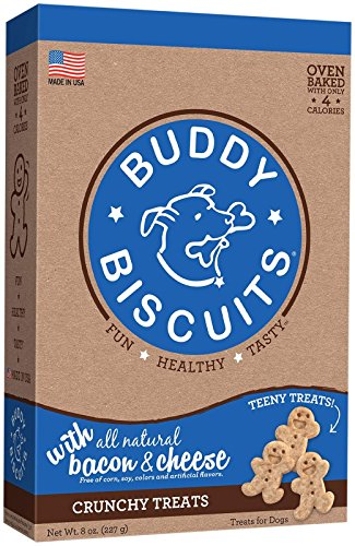 Buddy Cloud Star Itty Bitty Biscuits - Bacon & Cheese Flavor - 8oz.