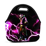 Ryaody Lunch Tote Fortnite Drift Full Armor Lightning Lunch Bag Adult Kids - Idea Beach, Picnics, Road Trip, Meal Prep,Daily, Lunch to Work School