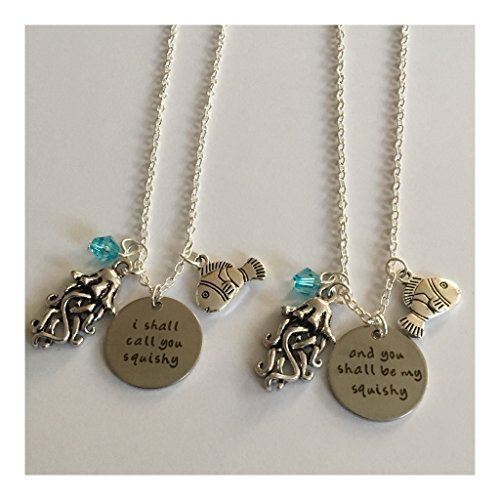 AnnaKJewels I Shall Call You Squishy and You Shall be My Squishy (Set of 2 Necklaces)