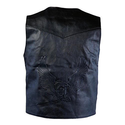 Xl Leather Vest - 1