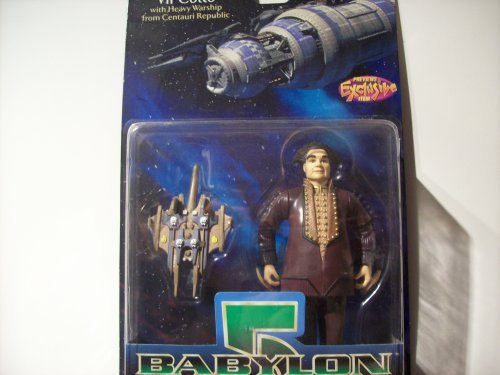 Babylon 5 Vir Cotto with Centauri Republic Warship