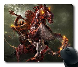 God of war rectangle mouse pad by LZHCASE